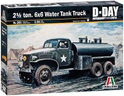 Военен камион - Studebaker US6 D-Day Normandy - Сглобяем модел -