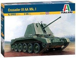 Британски противовъздушен танк - Crusader III AA Mk. I - Сглобяем модел -