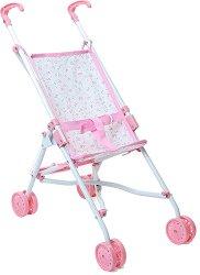 Сгъваема количка за кукли - Детска играчка -