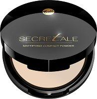 """Bell Secretale Mattifying Compact Powder - Матираща пудра за лице от серията """"Secretale"""" - продукт"""