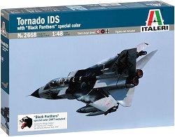 Италиански изтребител - Tornado IDS Black Panthers - Сглобяем авиомодел -