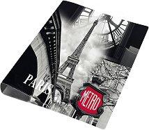 """Класьор - Формат A4 от серията """"Paris"""""""
