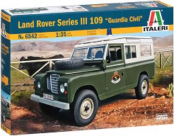 "Военен автомобил - Land Rover Series III 109 ""Guardia Civil"" - Сглобяем модел - макет"