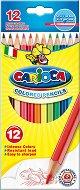 Цветни моливи - Комплект от 12 цвята с острилка -