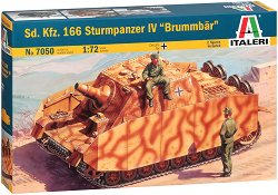 Германски танк - Sd. Kfz. 166 Sturmpanzer IV - Сглобяем модел - макет