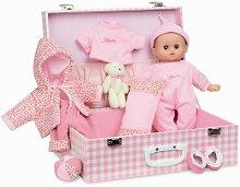 Кукла бебе - Комплект с куфар и аксесоари - продукт