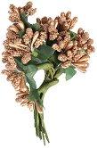 Декоративен елемент - Златни цветя