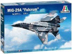 """Съветски изтребител - МиГ-29 A """"Fulcrum"""" - Сглобяем авиомодел -"""