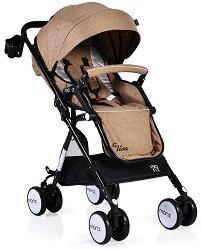 Лятна бебешка количка - Elisa - С 4 колела -