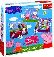 Пепа Пиг - Игра в училище - пъзел