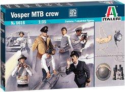 Екипаж на торпеден катер - Vosper MTB - Комплект от 7 фигури -