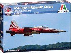 Американски изтребител - F-5 Tiger Patrouille Suisse - Сглобяем авиомодел -