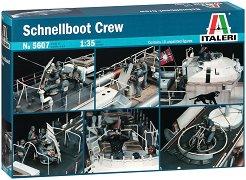 Корабен екипаж на Schnellboot - Комплект от 10 фигури -