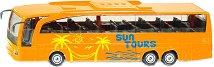 """Автобус - Mercedes Benz Travego Coach - Метална играчка от серията """"Super: Bus & Rail"""" -"""