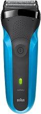 Braun Series 3 310S Rechargeable Wet & Dry Electric Shaver - Електрическа самобръсначка за мъже за сухо и мокро бръснене - продукт
