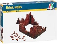 Тухлени стени - Втора световна война - Сглобяем модел -