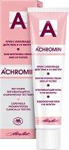 Achromin Skin Whitening Cream - Избелващ крем за лице и тяло с UV филтри - маска