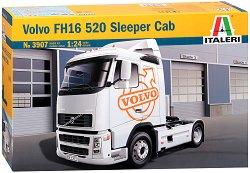 Камион влекач - Volvo FH16 520 Sleeper Cab - Сглобяем модел -