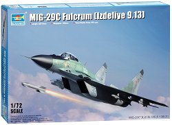 Руски изтребител - МиГ-29С Fulcrum - Изделие 9.13 - Сглобяем авиомодел -