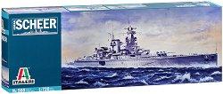 Германски тежък крайцер - Admiral Scheer - Сглобяем модел -