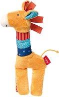 """Жираф - Плюшена играчка за бебе от серията """"PlayQ"""" -"""
