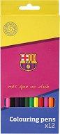 Цветни моливи - ФК Барселона - Комплект от 12 цвята