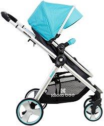 Комбинирана бебешка количка - Bali - С 4 колела -
