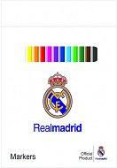 Флумастери - ФК Реал Мадрид - Комплект от 12 цвята