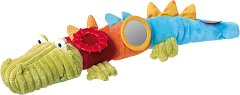 """Крокодил - Плюшена образователна играчка от серията """"PlayQ"""" -"""