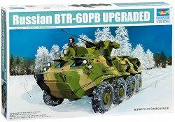 Руски бронетранспортьор - БТР-60ПБ Upgraded - Сглобяем модел -