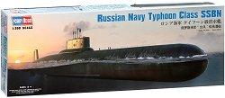 Руска ядрена подводница - Typhoon Class SSBN - Сглобяем модел - макет