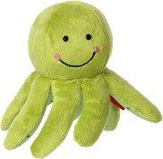 """Октопод - Бебешка плюшена играчка с дрънкалка от серията """"Red Stars"""" -"""