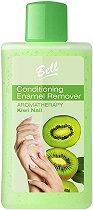 Bell Conditioning Enamel Remover Aromatherapy Kiwi Nail - Лакочистител без ацетон за слаби и чупливи нокти с аромат на киви - маска