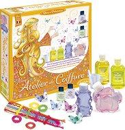 Направи сама шампоан - Принцеса - Комплект с аксесоари за коса - играчка