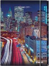 Папка с ластик - Skyline City