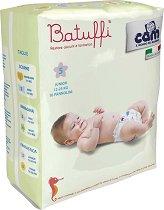 Cam Batuffi - Junior 5 - Пелени за еднократна употреба за бебета с тегло от 12 до 25 kg -