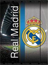 Папка с ластик - ФК Реал Мадрид - Формат A4