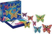 Създай и оцвети сама витражи - Пеперуди - Творчески комплект - творчески комплект