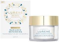 """Lumene Hehku Radiance Defending Transformative Day Cream - SPF 20 - Защитен дневен крем против стареене от серията """"Hehku"""" - продукт"""