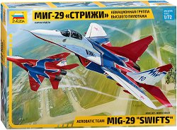 Военен изтребител - Миг-29 The Swifts - Сглобяем авиомодел -