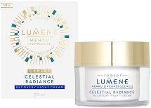 Lumene Hehku Celestial Radiance Recovery Night Cream - серум