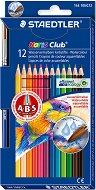 Цветни моливи - Aquarell - Комплект от 12 или 24 цвята с четка