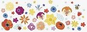 Декоративна самозалепваща лента - Цветове - Ролка с размери 7.6 x 200 cm
