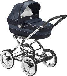 Бебешка количка 3 в 1 - Linea Classy Tris - С 4 колела - количка