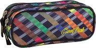 Ученически несесер - Clever: Rainbow Stripes - несесер