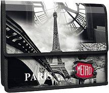 """Папка тип хармоника - Формат А4 от серията """"Panta Plast - Paris"""""""