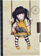 """Таен дневник - Ruby Yellow - От серията """"Gorjuss"""" -"""