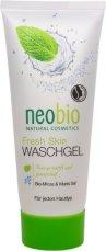 Neobio Fresh Skin Wash Gel - Измиващ гел за лице с мента и морска сол - душ гел