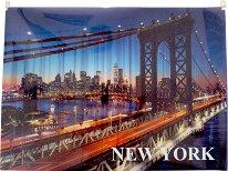 """Папка с цип - Формат А4 от серията """"New York"""""""