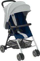 Лятна бебешка количка - Fletto - С 4 колела -